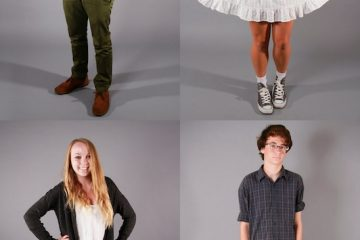 """These students know what's """"in"""" right now for fashion whether it be high-top converse and cuffed pants or the """"hipster"""" look. Credit: Aysen Tan/The Foothill Dragon Press"""