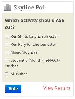 Poll  Which ASB activity would you cut  – The Foothill Dragon Press