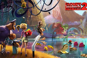 """""""Cloudy with a Chance of Meatballs 2"""" was released on September 27. Credit: Columbia Pictu"""