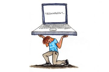 Too often, time in class is being spent on trying to work iPads and searching the internet. Credit: Michael Morales/The Foothill Dragon Press