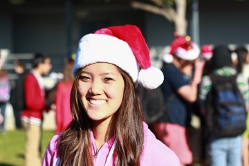 Junior Cami Burns celebrates Christmas with her family every year by. Credit: Kazu Koba/ The Foothill Dragon Press