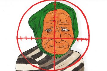Nabila's grandmother was thrown 25 feet and killed by a US drone strike. Credit: Michael Morales/ The Foothill Dragon Press