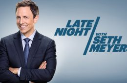 """Late Night with Seth Meyers"" had a shaky start because of Meyers' background in SNL's Weekend Update, but he does show promise. Credit: NBC Studios"