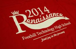 New Renaissance shirts will be distributed tomorrow at lunch. Credit: Aysen Tan/ The Foothill Dragon Press