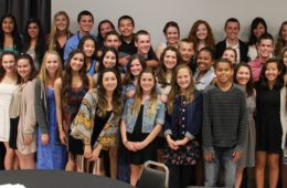 The ASB class had their annual banquet on Wednesday. Credit: Aysen Tan/The Foothill Dragon Press