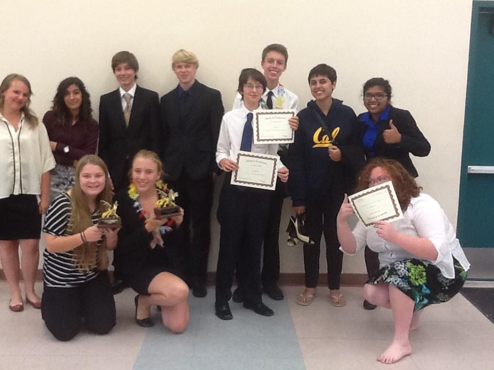 Breaking News Speech And Debate Wins Five Awards The