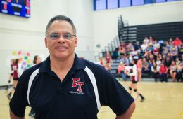 Volleyball coach chip