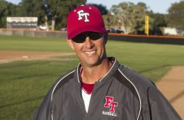 Baseball coach Clint Ellison is eCredit: Austin Hunt/The Foothill Dragon Press