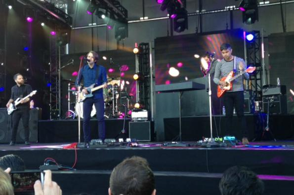 "Alternative rock band Death Cab for Cutie performed songs off their newest album ""Kitsungi"" during Wednesday's Jimmy Kimmel Live concert. Photo Credit: Emma Kolesnik/The Foothill Dragon Press"