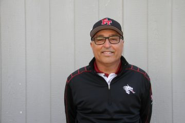 Coach Mark Wipf has enjoyed his first season working with the Foothill boys' golf team. Credit: Carrie Coonan/The Foothill Dragon Press