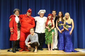 "The cast of Buena High School's ""The Little Mermaid Jr."" enjoyed performing in the play. Credit: Sunset Flores/The Foothill Dragon Press"
