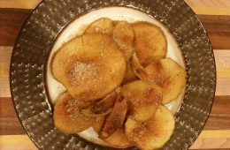 Homemade Crispy Apple Chips 2