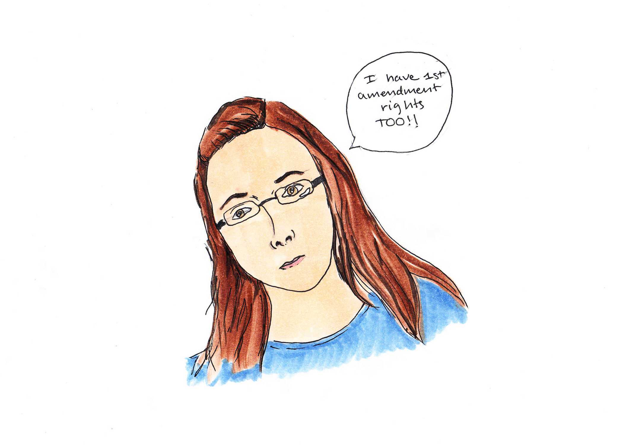 Opinion writer William Flannery believes that Kim Davis. Credit: Jessie Snyder/The Foothill Dragon Press