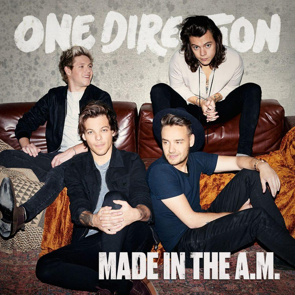 "Though the band was proud of their album, A&E writer Suvee Ranasinghe thinks ""Made in the A.M."" is One Direction's worst album yet. Credit: Columbia Records"