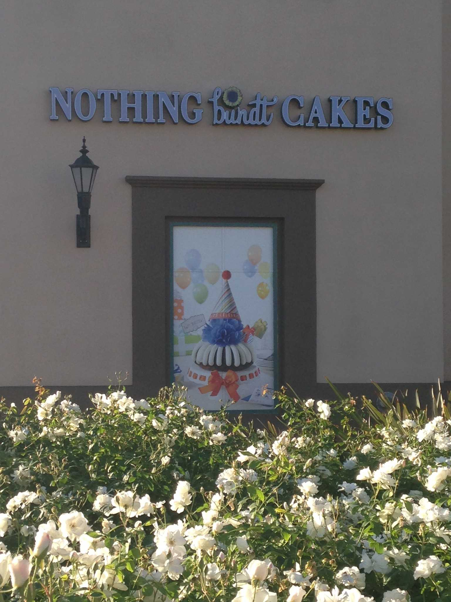 """Nothing Bundt Cakes"" is located on South Victoria Avenue. Credit: Julia Fickenscher/The Foothill Dragon Press"