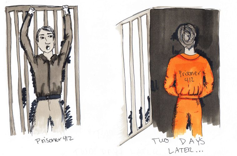 In the prison system, many who leave will wind up there again a few days later. Credit: Jessie Snyder/The Foothill Dragon Press