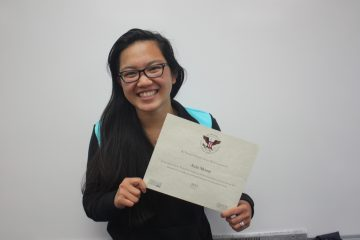 Asia Moore was pleasantly surprised to hear she had won the Presidential Service Award. Photo Credit: Gabrialla Cockerell / The Foothill Dragon Press.