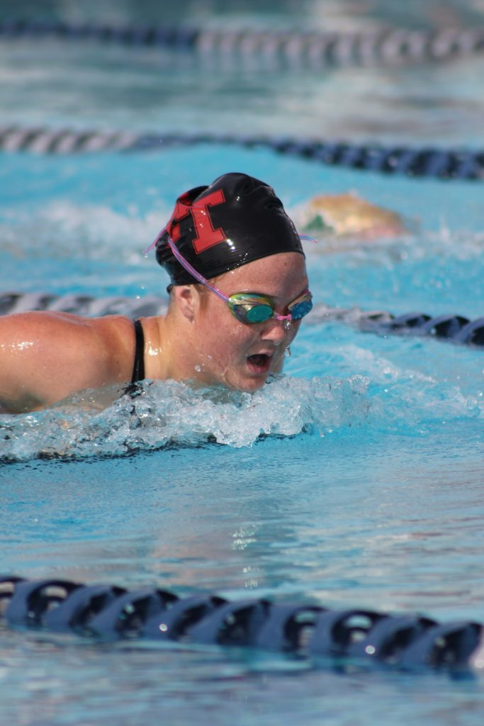 IMG 6106 e1460134475596 683x1024 Foothill swim crushes Saint Bonaventure in first home meet