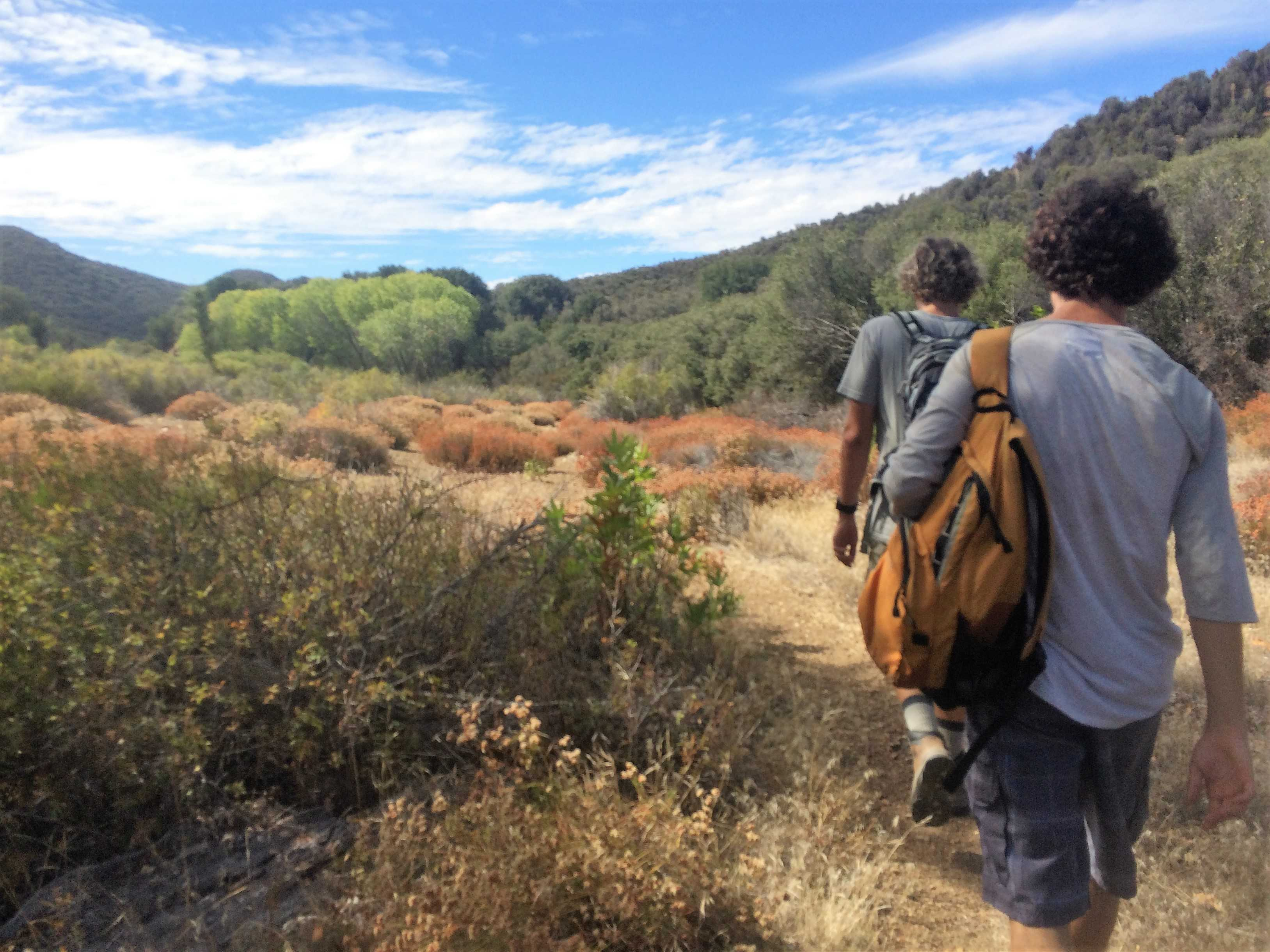 Sespe Wilderness. Photo Credit: Meghan Schuyler / The Foothill Dragon Press.