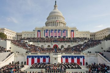 The inauguration of President Donald Trump. Credit: U.S. Capitol