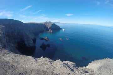 The view from Inspiration Point on Anacapa Island. Credit: Julian Martinez used with permission