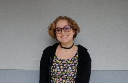Hannah Yale'20. Credit: Olivia Sanford / The Foothill Dragon Press