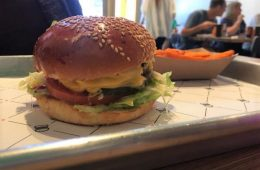 Beginning in 2011, Burgerim now has over 160 locations spread across the globe. Credit: Sophia Parker / The Foothill Dragon Press