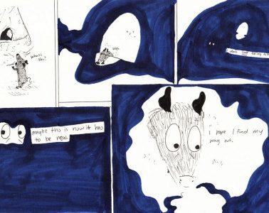 Cartoonist Blythe Blakeman