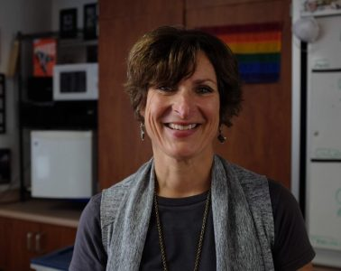 Government and History teacher Cherie Eulau. Credit: Jason Messner / The Foothill Dragon Press