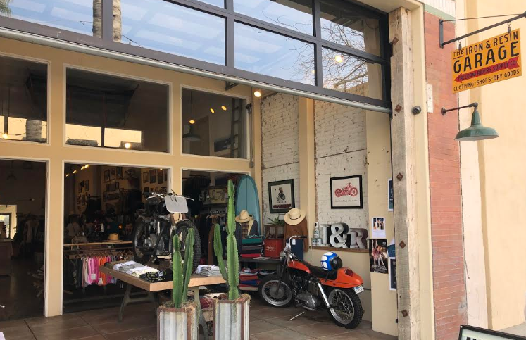 """Thom Hill, the owner of Iron & Resin, opened his small business to """"bring growth to the community, creating jobs and opportunities for local residents."""" Credit: Bella Hall / The Foothill Dragon Press"""
