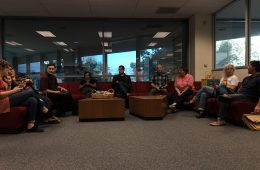 Community members wait as school board deliberates in closed session. Credit: Marin Valerio / The Foothill Dragon Press
