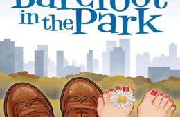 """Poster advertisement for Buena High School's production, """"Barefoot in the Park"""". Credit: Buena High School Drama Department."""