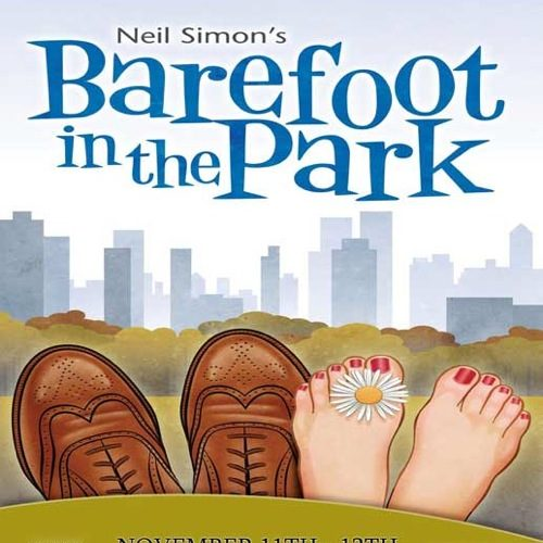 "Poster advertisement for Buena High School's production, ""Barefoot in the Park"". Credit: Buena High School Drama Department."