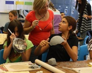 Students at D.A.T.A. are now able to experience different forms of education, including art and technology. Jocelyn Rodriguez/The Foothill Dragon Press.
