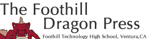 The Foothill Dragon Press logo