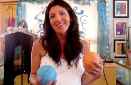 """Manager Amy Morrison believes that there is something for everyone to buy at """"Blue Moon"""". Credit: Karie Portillo/The Foothill Dragon Press."""