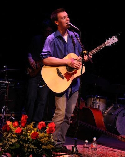 Mark Cross performs Saturday night at the Rubicon Theater. Credit: Chrissy Springer/The Foothill Dragon Press.