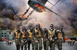 """George Lucas released his newest movie, """"Red Tails,"""" Jan 20. Credit: 20th Century Fox"""