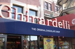 San Francisco's famed Ghirardelli Chocolate Factory is a recommended sweet treat in the Fog City. Creedit: Danielle Draper/The Foothill Dragon Press.