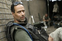 "Sebastian Junger's next project for ""Vanity Fair"" magazine will take him to Libya. Credit: Tim Hetherington."