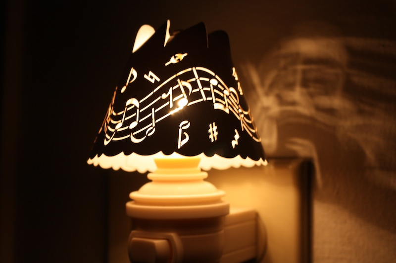 Awesome This Cut Out Spin Shade Creates A Soft Night Light. Wendy Wood Based The