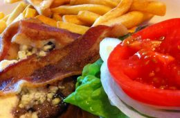 Burgers are just one of many choices on the menu at Denny's Deli & Grill. Credit: Ema Dorsey/The Foothill Dragon Press
