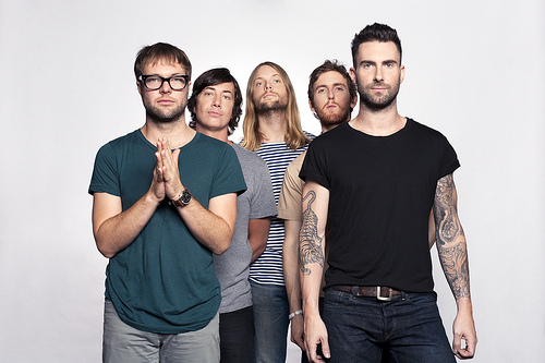 "Maroon 5's new album ""Hands All Over"" doesn't hit home with Rachel Crane. Creative Commons photo by Jeff Jeffries on Flickr.com.·"