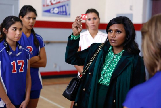 """Teen Patient,"" an episode on Fox's new show, ""The Mindy Project"" was chosen by the Dragon Press as one of the best television episodes of 2012. Credit: Fox"