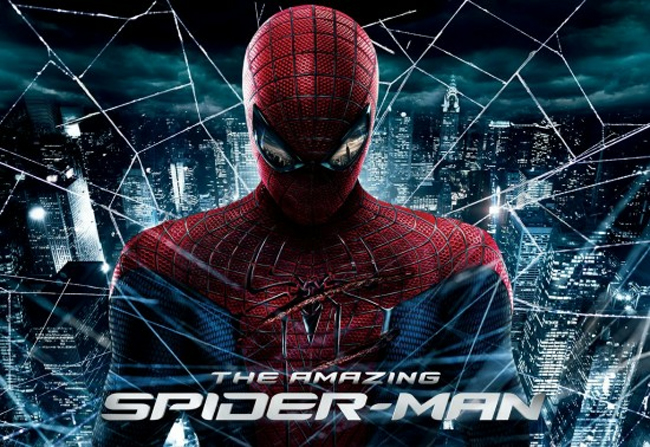 """""""The Amazing Spider-Man,"""" starring Andrew Garfield and Emma Stone, is one of the Dragon Press' picks for the best movies of 2012. Credit: Columbia Pictures"""