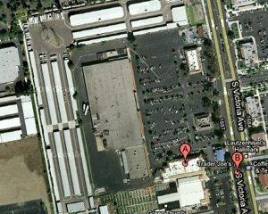 The former K-mart shopping center will hold a new Walmart. Credit: Google maps.