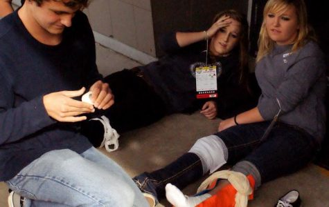 Students perform multiple casualty triage simulation (22 photos)
