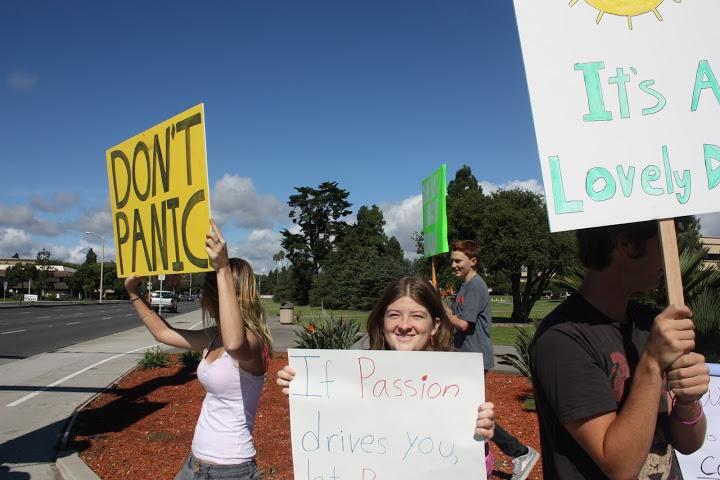 Foothill rallies to Restore Sanity and/or Fear (19 photos)
