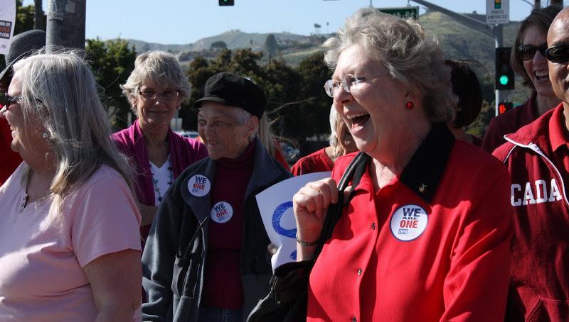 Ventura educators march in sea of red against school budget cuts (44 photos)