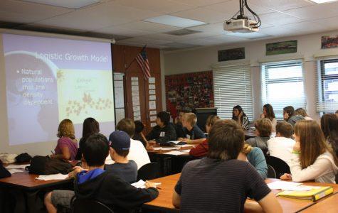 Freshmen learn of Ninth Grade Project (15 photos)